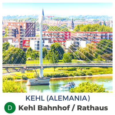 Kehl · Kehl Bahnhof / Am Läger / Rathaus