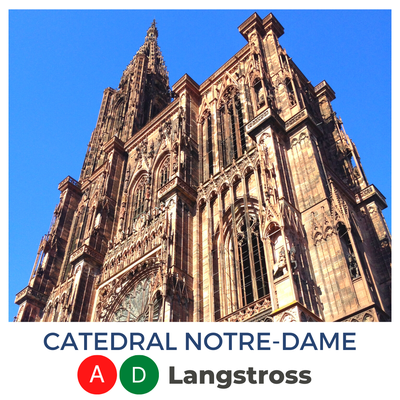 Catedral Notre-Dame · Langstross Grand'Rue