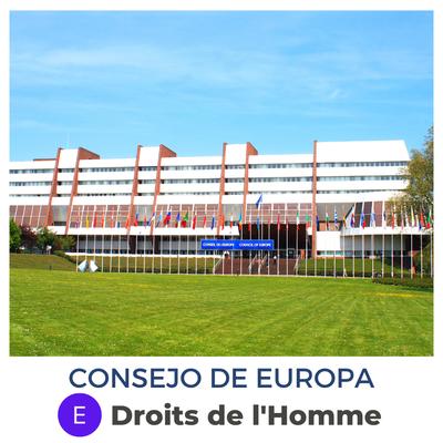 Consejo de Europa · Droits de l'homme