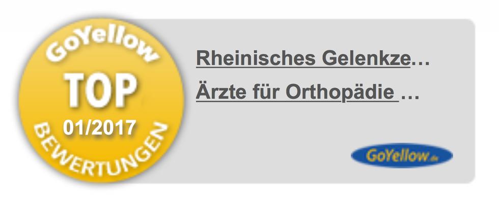 Bild: Orthopädie Orthopäden Sportmedizin Bräunl Rheinisches Gelenkzentrum Bergisch Gladbach