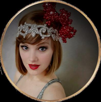 Lucy Flournoy, Tänzerin und Sängerin der Band Lou's The Cool Cats, welche auch des öfteren in der Stadt Essen spielt.