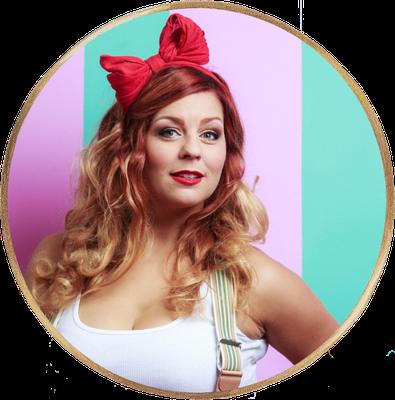 Juliane Bischoff alias Jane ist ebenfalls Sängerin der Vintage Band Lou's The Cool Cats und ist mit den Kölner Katzen auch schon München aufgetreten.