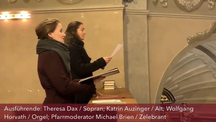 Livestream-Gottesdienst aus Lockenhaus mit Katrin Auzinger & Wolfgang Horvath, Dez 2020