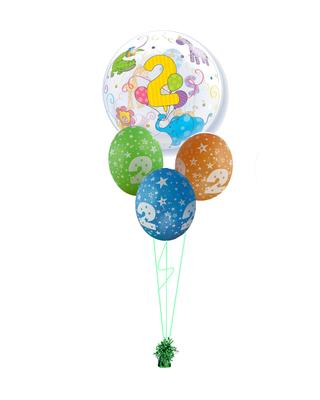 bukiet balonowy 2 latka