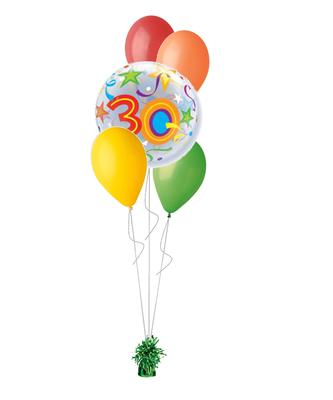 bukiet balonowy 30-stka