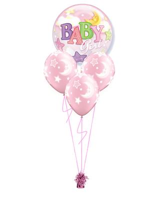 bukiet balonowy baby shower