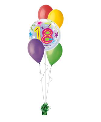 bukiet balonowy 18-nastka