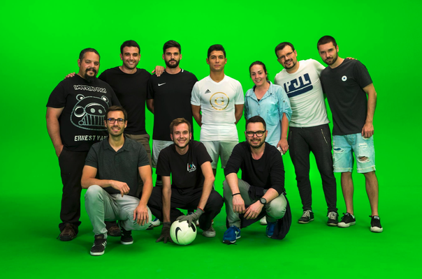 Film und Fernsehen - Fussball Künstler Saki