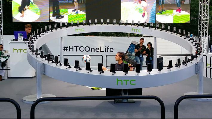 HTC Produktpräsentation