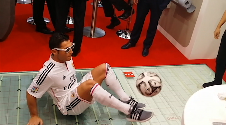 GC Gruppe - Ronaldo, Real Madrid with Football Freestyle