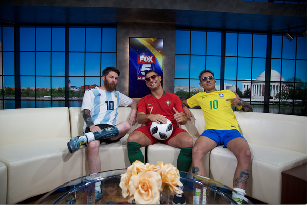 Fox Sports - Worldcup Cristiano Ronaldo Lookalike