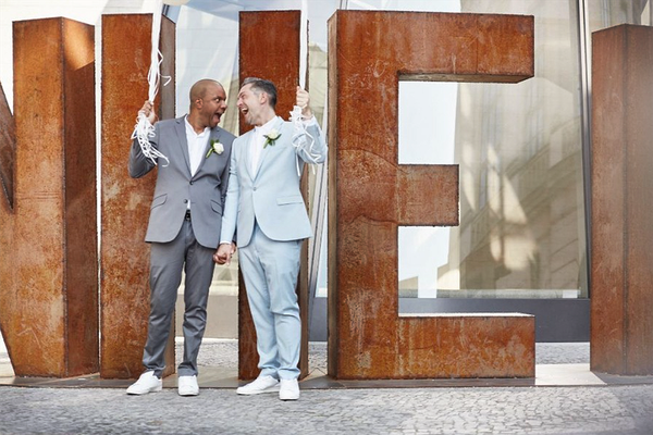 Gay Wedding - Samesex Marriage - Berlin - www.ihrhochzeitsplaner.berlin