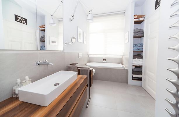 Schreinerei Kleeschulte plant und gestaltet die Inneneinrichtung für Ihr Badezimmer