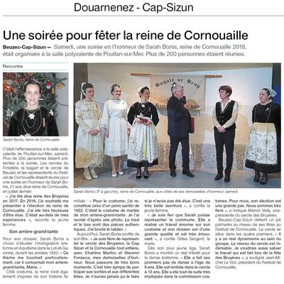 Ouest-France  -  Mardi 18 Décembre 2018