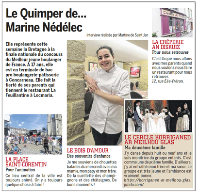 Coté Quimper  -  21-27 Novembre 2018