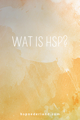 Wat is HSP?