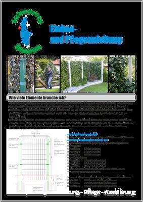 Einbau- und Pflegeanleitung - Fertighecken - Mobilane Fertighecke - Efeuhecke (1)