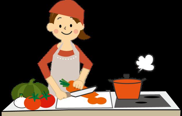 素材を活かして栄養のバランスを考えたお食事をお作りします。