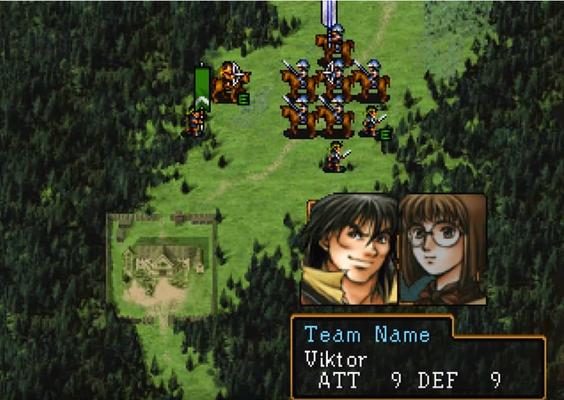 Beispiel einer Schlacht