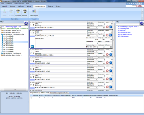 Managementsystem (Backoffice)