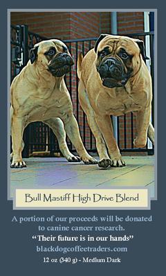 Tina en Turner staan op een zak Amerikaanse koffie: http://stores.blackdogcoffeetraders.com/high-drive-bull-mastiff/