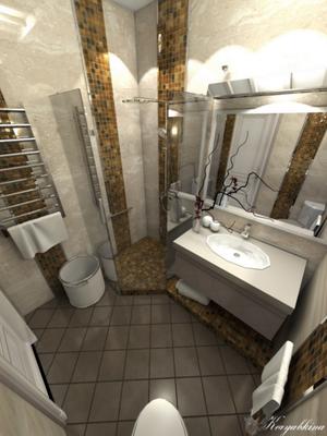 ванная интерьер в современном стиле