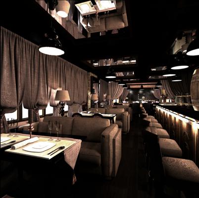 кафе бар ресторан интерьеры