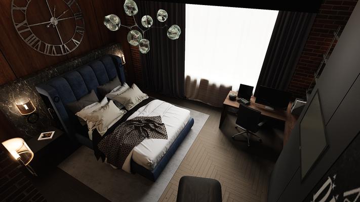 Проект интерьера мастер-спальни