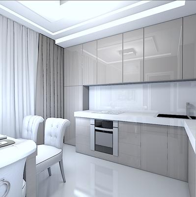 дизайн интерьера кухни минимализм кухня лак на заказ