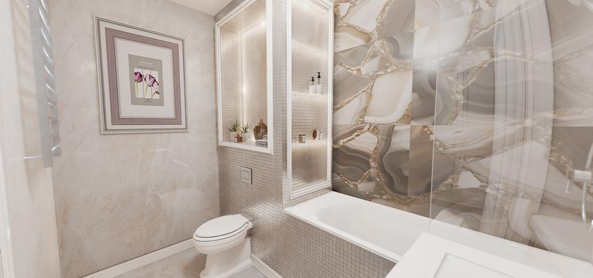 Дизайн ванной. Дизайнер Анастасия Корябкина