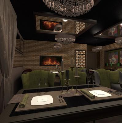 дизайн проект кафе бара ресторана