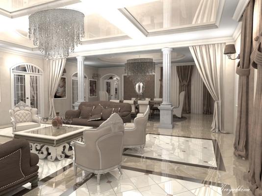 дизайн дома на рублевке