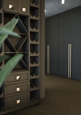 Винный шкаф в интерьере