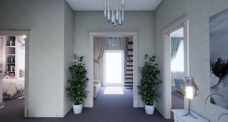 Частный дизайнер интерьера, портфолио, дизайн интерьера загородного дома