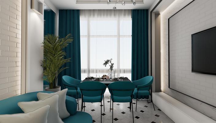 Дизайн интерьера квартиры. Кухня-гостиная. Дизайнер интерьера Анастасия Корябкина