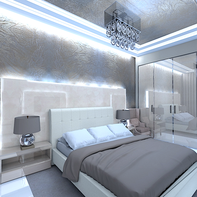 изголовье кровати дизайн с подсветкой