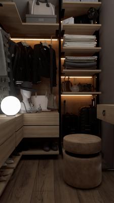 Красивые квартиры и гардеробные в них