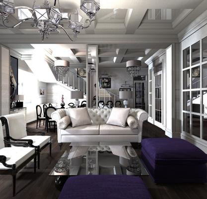 частный дизайнер интерьера в проекте дома