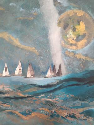 Acryl, 50 x 60 cm, 2018