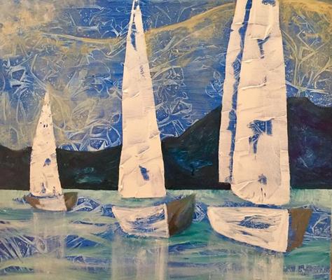 Acryl, 50 x 60 cm, 2017, not available