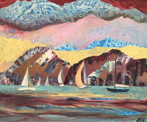 Acryl, 50 x 60 cm, 2019