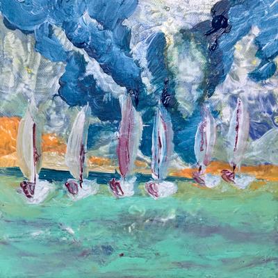 Acryl, 20 x 20 cm, 2019