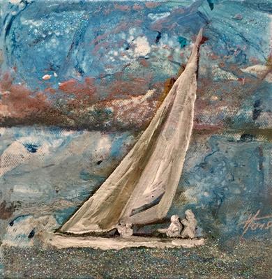 Acryl, 20 x 20 cm, 2019, not available