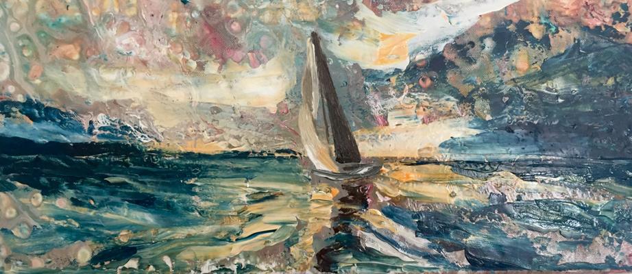 Acryl, 25 x 58 cm, 2019