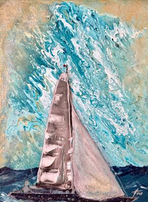 Acryl, 30 x 40 cm, 2018, not available