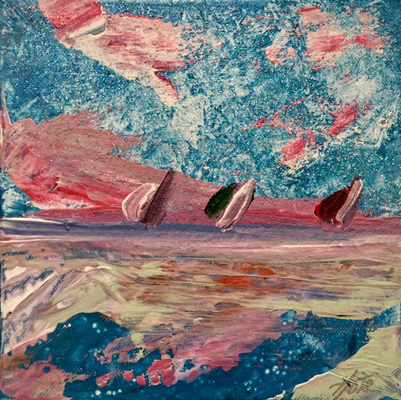 Acryl, 20 x 20 cm, 2019, not available