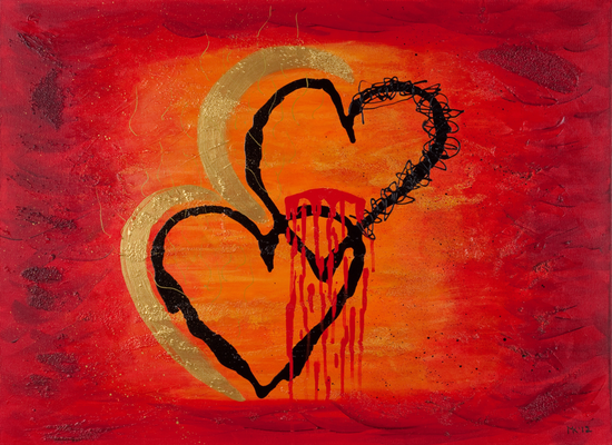 Love - 80 x 60cm  -- SOLD