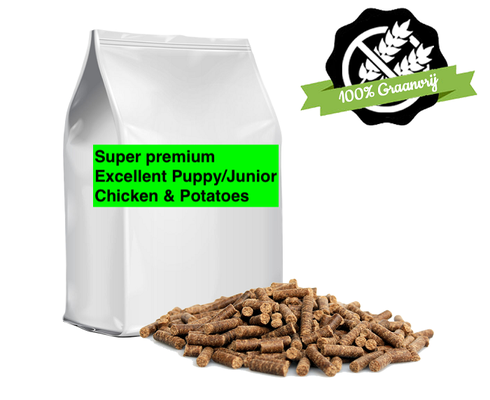 Super Premium Excellent Puppy/Junior Chicken & Potatoes