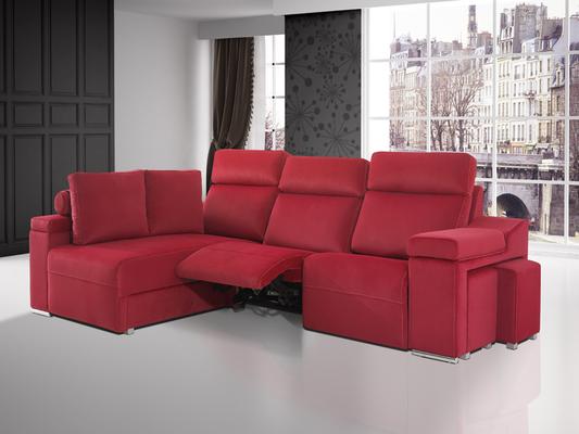 ¿Chaiselongue?, Tenemos lo que buscas: sofas de 2 y 3 plazas que nos permiten adaptarnos a cualquier espacio, gracias a que existen Chaiselongues a la derecha o izquierda, estos están tapizados en tela, poseen tejido antimanchas, también los tenemos en pi