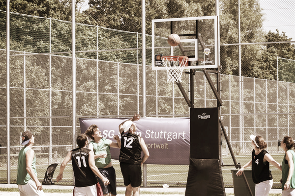 Spalding Street Basketball Backstop
